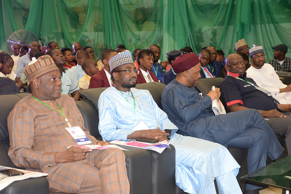CROSS SECTION OF DIGNITRIES AT THE EDTECH EVENT HELD IN ABUJA_