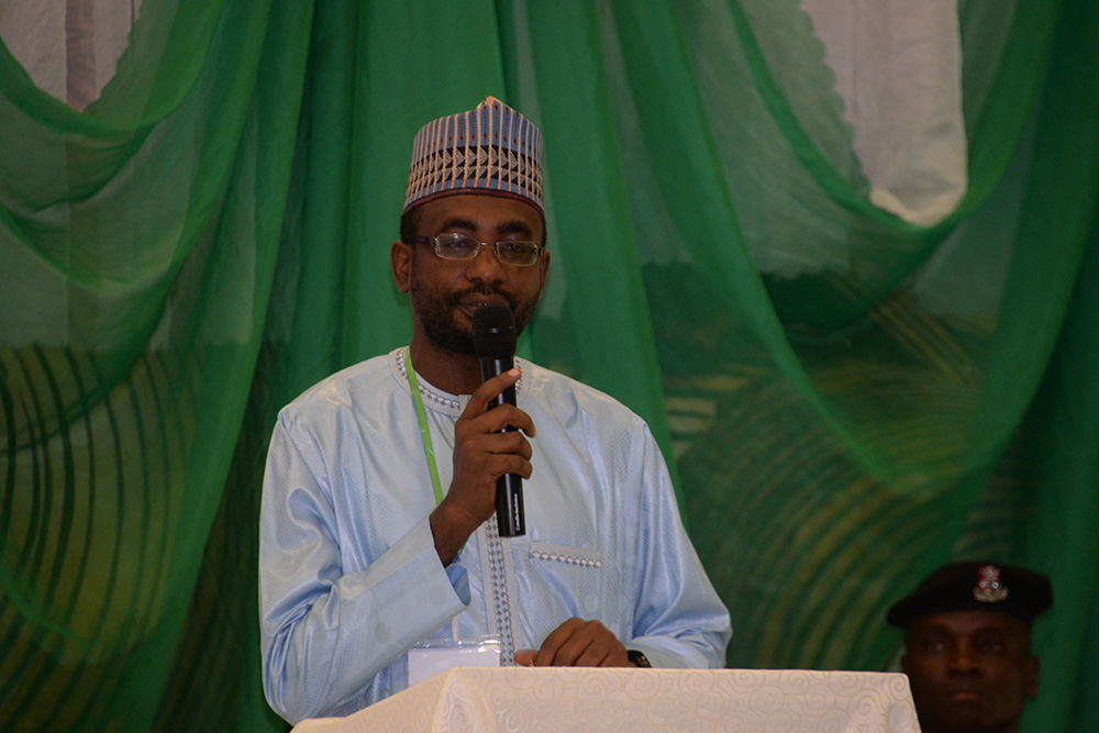 THE DIRECTOR GENERAL OF NITDA KASHIFU INUWA ABDULLAHI DELIVERING HIS REMARKS AT THE EDTECH EVENT HELD IN ABUJA_